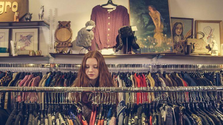 Tøj i butik